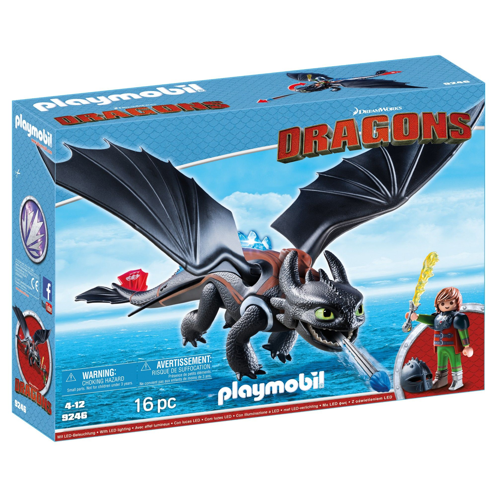 Playmobil How To Train Your Dragon Hiccup Toothless How Train Your Dragon Hiccup And Toothless How To Train Your Dragon