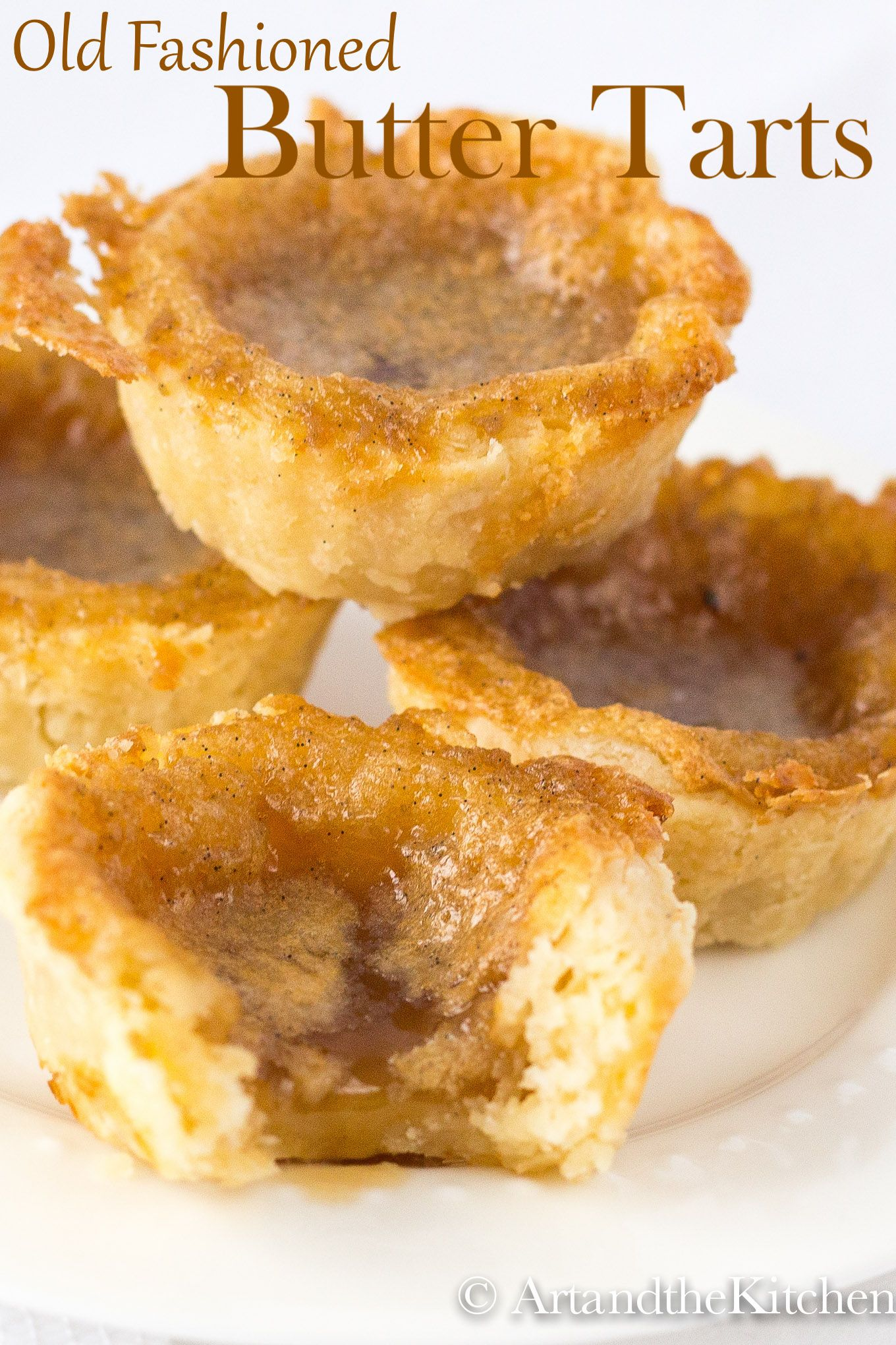 Old Fashioned Butter Tarts #dessertrecipes