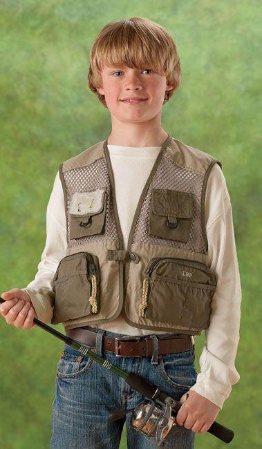 Kids Fly Fishing Vest Childs Fly Fishing Vest Orvis On Orvis Com Fishing Vest Fly Fishing Kids Fishing Vest