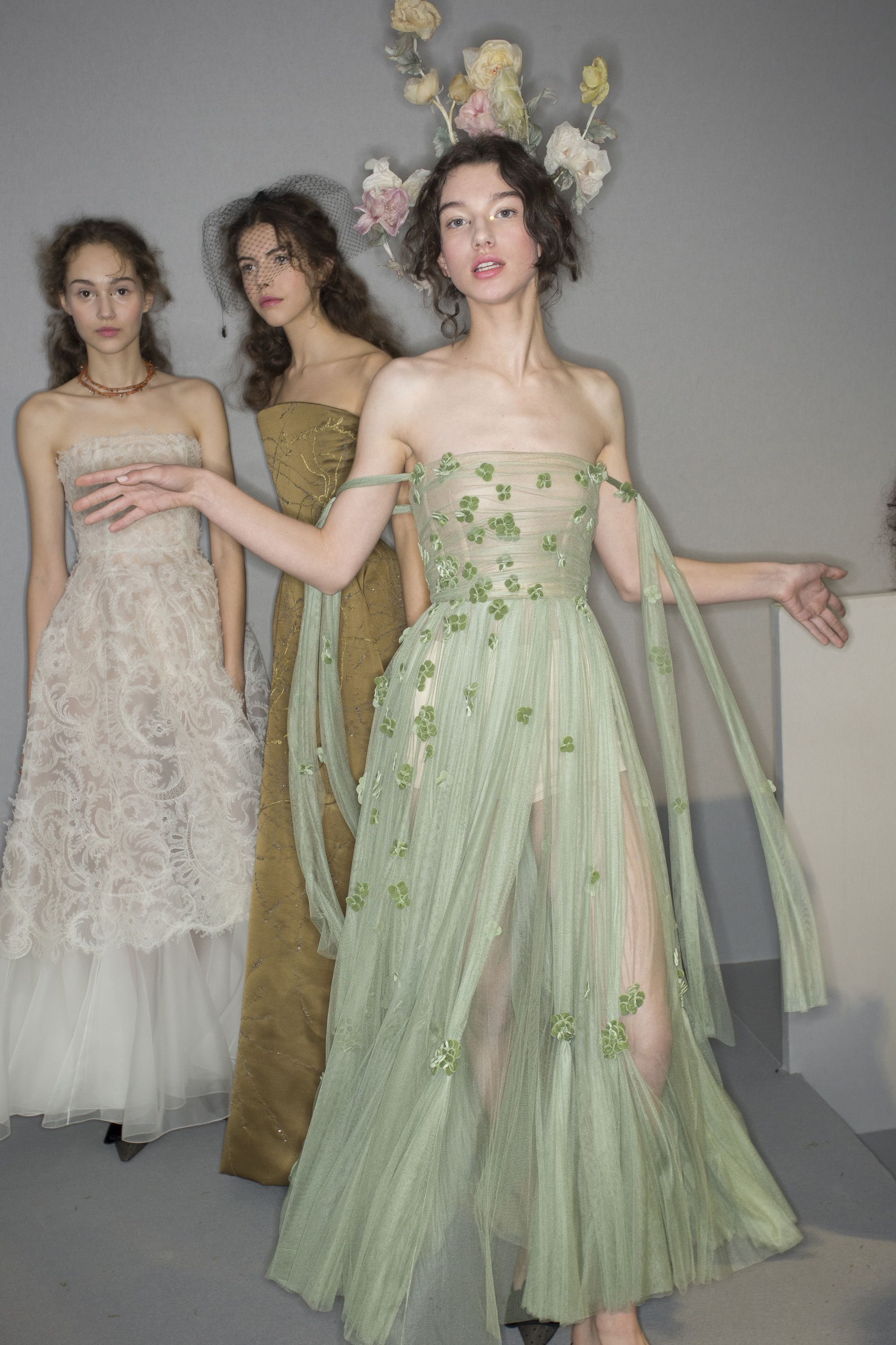 Christian Dior Haute Couture Spring/Summer 2017 Backstage