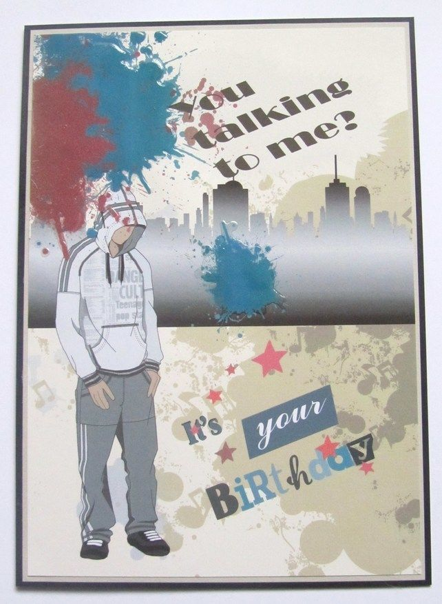 Handmade Youth Birthday Card £2.00