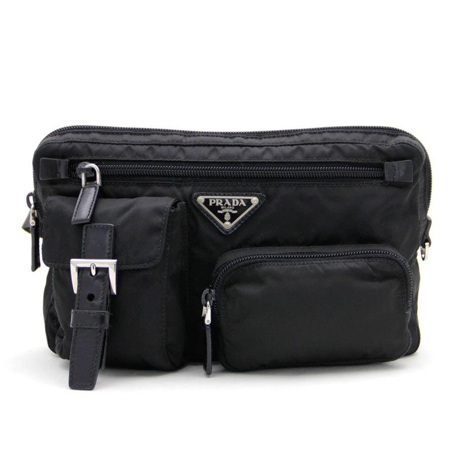 32078a5a446d ... uk tokuya rakuten global market prada prada bag triangle logo plate  nero black 1332c cff02