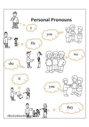 to teach personal pronouns esl worksheets scuola pinterest worksheets pronoun. Black Bedroom Furniture Sets. Home Design Ideas