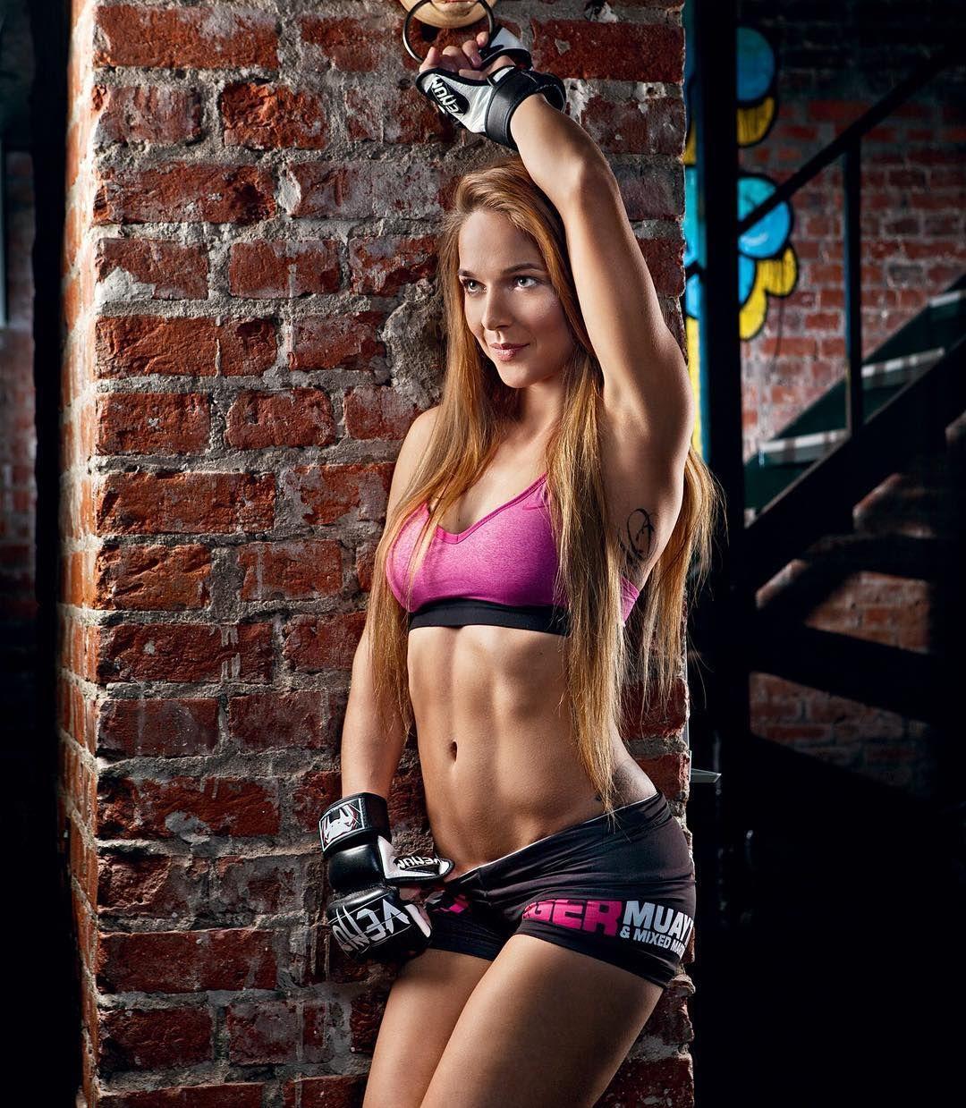 Juli Firso muay thai kickboxing boxing gloves girl  JSFAV