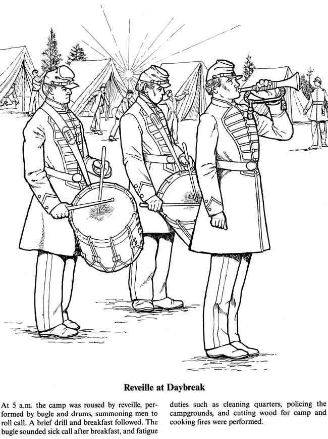 Civil War Coloring Pages Flag Coloring Pages Dover Coloring Pages