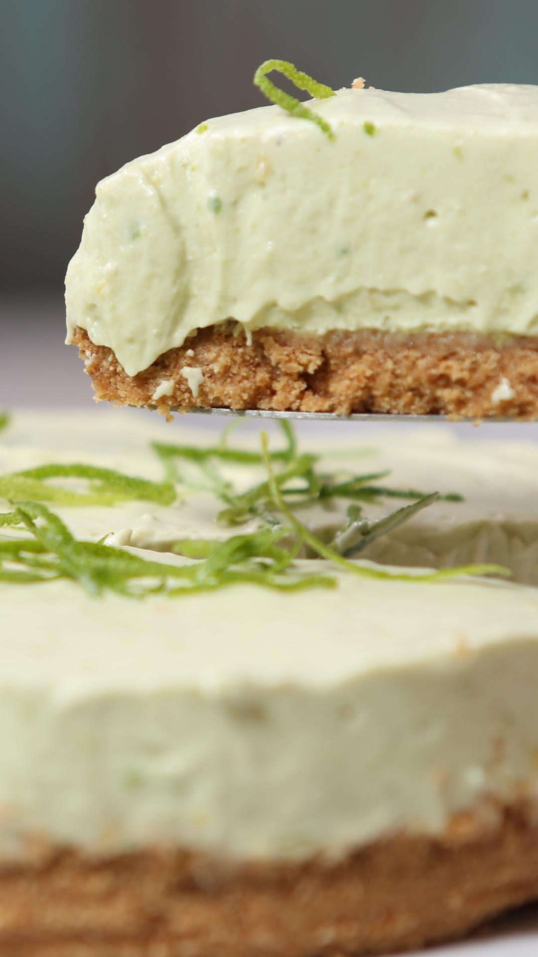 Cheesecake de Aguacate #redvelvetcheesecake