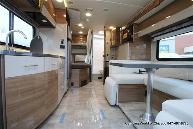 New 2016 Winnebago View Class C Motorhome Slide Out Dining Sofa