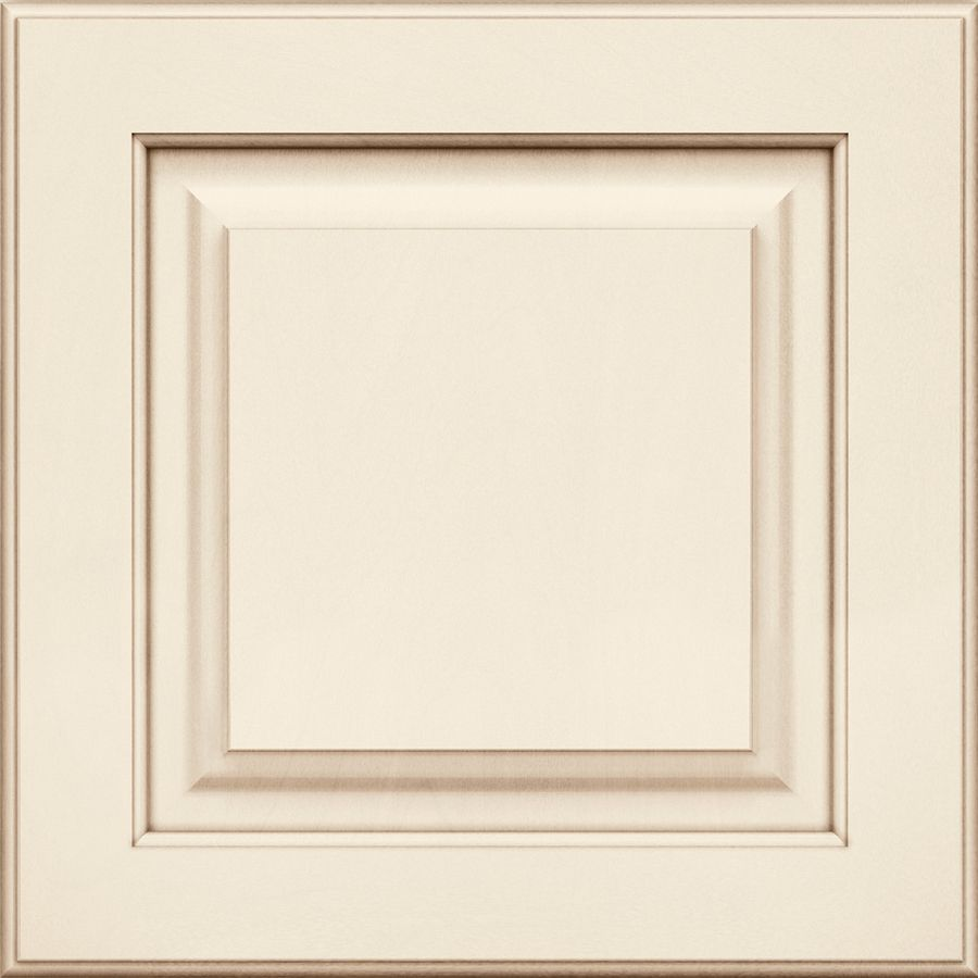 Kraftmaid Montclair Maple Canvas With Cocoa Glaze 15 In X 15 In Canvas With Cocoa Glaze Maple Square Kraftmaid Raised Panel Cabinets Refacing Kitchen Cabinets