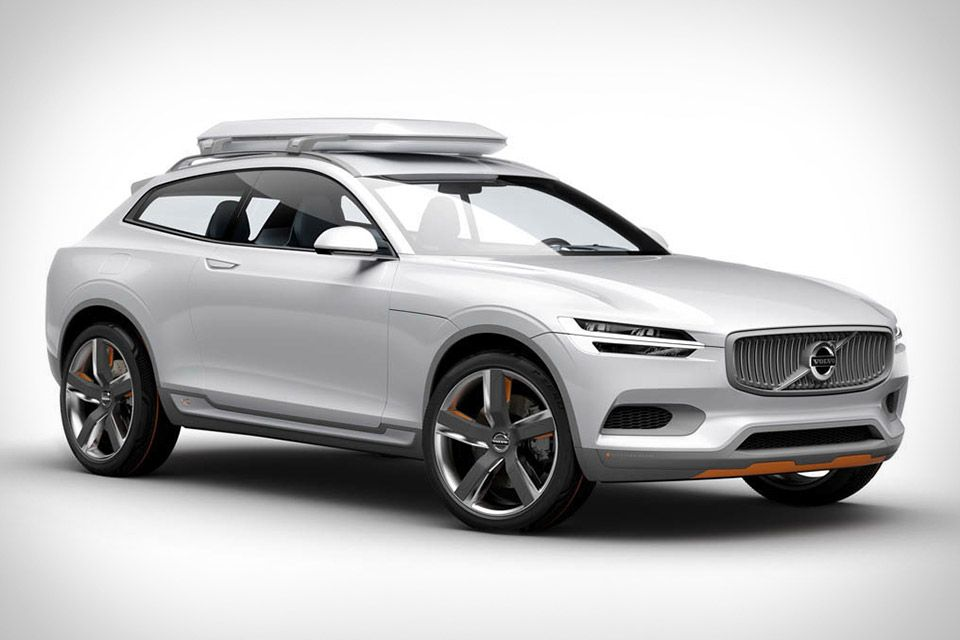 Volvo Concept Xc Coupe With Only Two Doors But A Full Four Seats As Most Concepts Details On The Inner Workings Such Engine Transmission