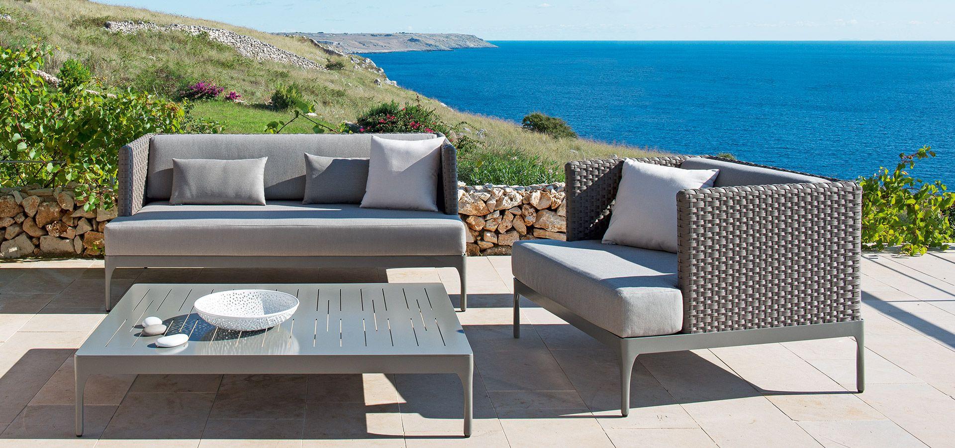 Salon de jardin haut de gamme. Sun mobilier Bordeaux lac | SUN ...