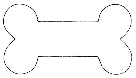 dog bone template printable | Template printable ...