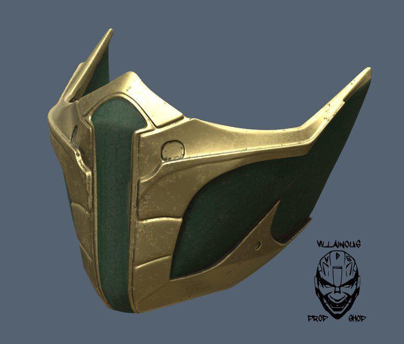 Mortal Kombat 11 Jade Or Skarlet Mask Etsy Mortal Kombat