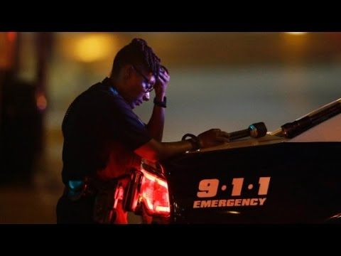 Desperate calls from Dallas officers during ambush