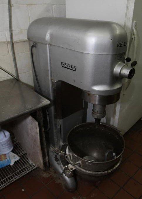 Hobart 60 quart mixer model H-600 serial number 1502355 with bowl ...