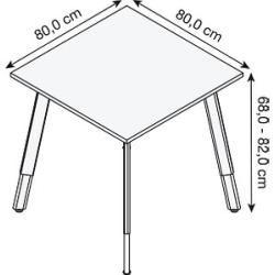 Photo of Röhr start.now height-adjustable desk gray rectangular RöhrRöhr