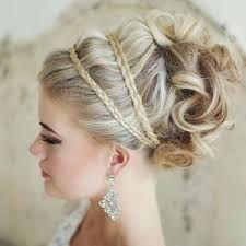 """Résultat de recherche d'images pour """"coiffure mariage tresse"""""""