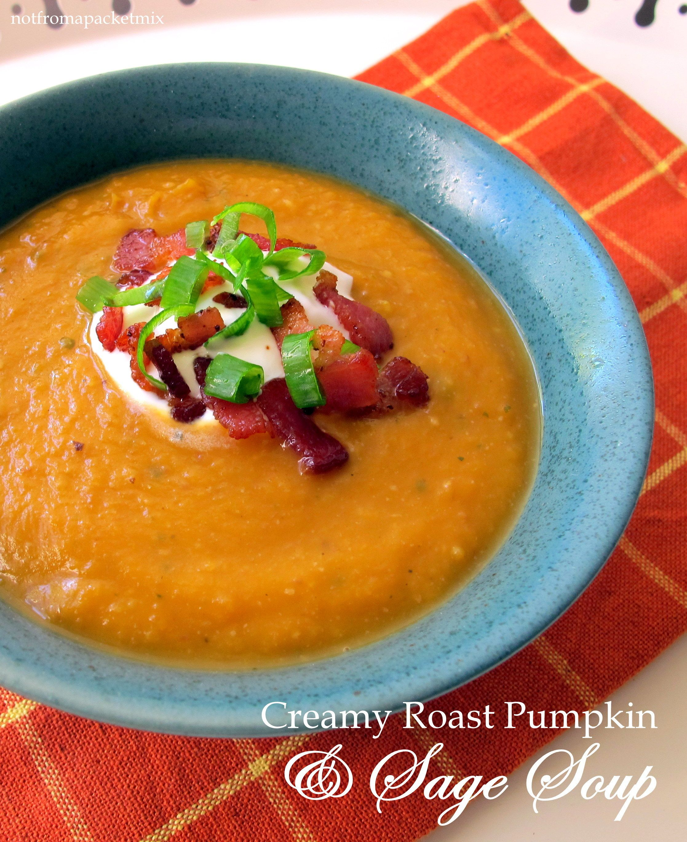 Roasted Pumpkin Sage Soup Recipe — Dishmaps This Pumpkin Sage Soup Recipe — Dishmaps is a best for our Lunch made with awesome ingredients! Dairy, Gluten Free, grain free and paleo too!, Our pumpkin and pancettsoup Recipes very delicious, we can try to make this Pumpkin Sage Soup Recipe — Dishmaps recipes at home.Read More About This Recipe  Click here