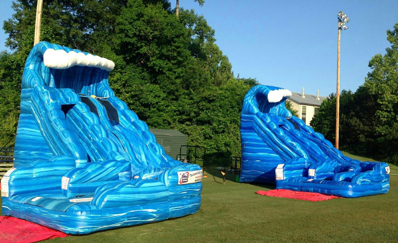 18ft monster wave waterslide rentals from astro jump of
