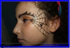 Resultado De Imagen De Maquillaje Para Ninas Halloween Pinterest - Maquillaje-bruja-para-nia