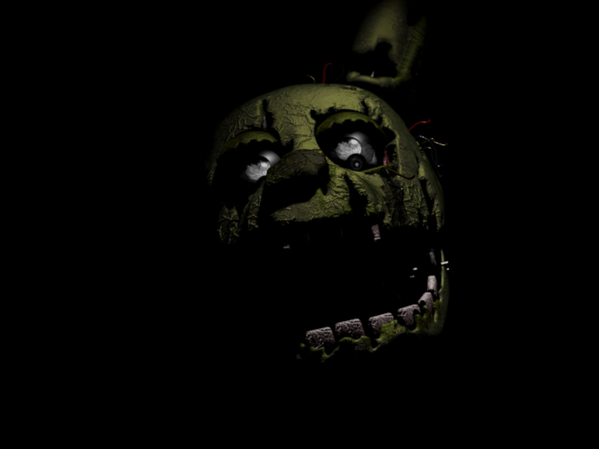 Super Cool Pic Of Spring Traps Face Fnaf Wallpapers Five Nights