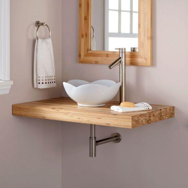 Stunning Bathroom Vanity Without Top Using Wash Basin Bowl Ceramic