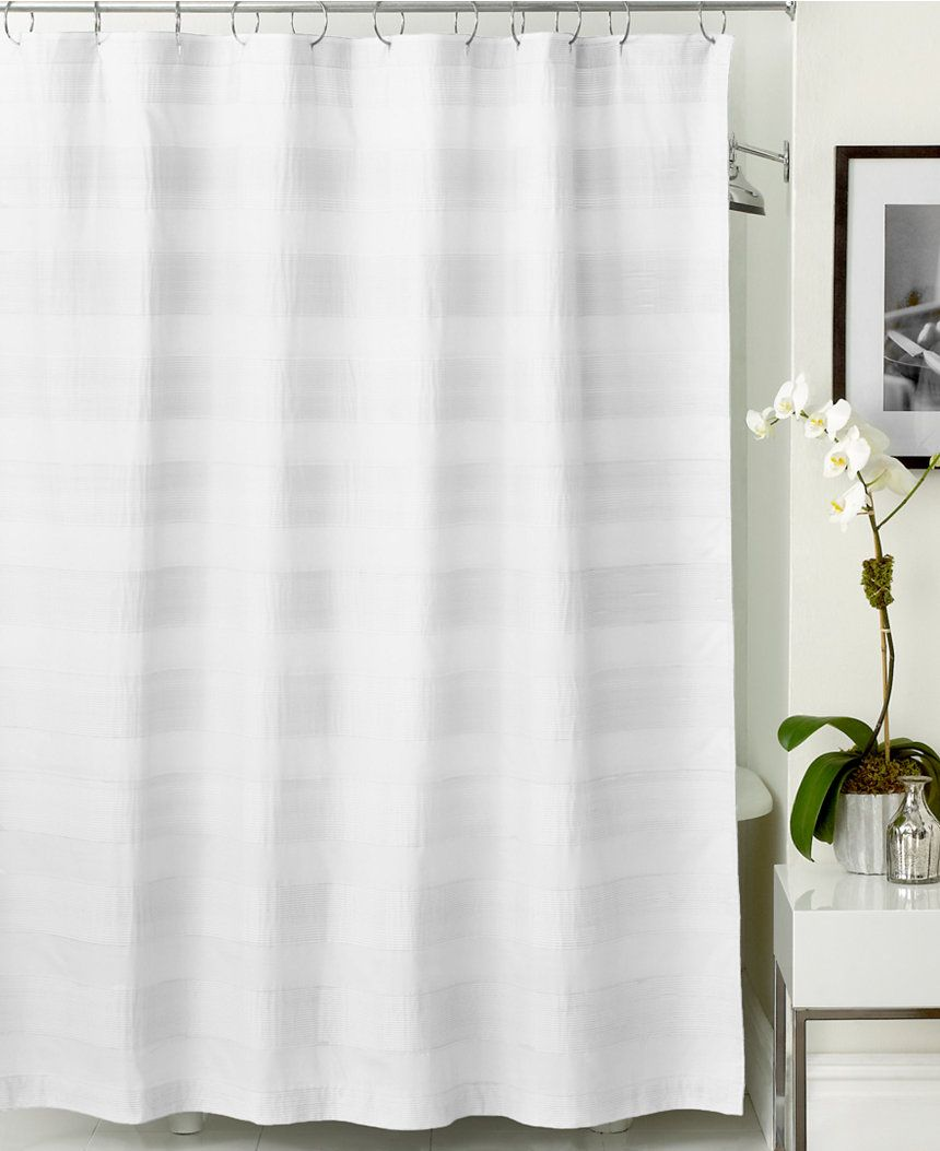 Woven Pleat Shower Curtain | Pinterest | Hotel collection towels ...