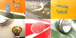 vintage planes & cars... by Three Red Apples, via Flickr