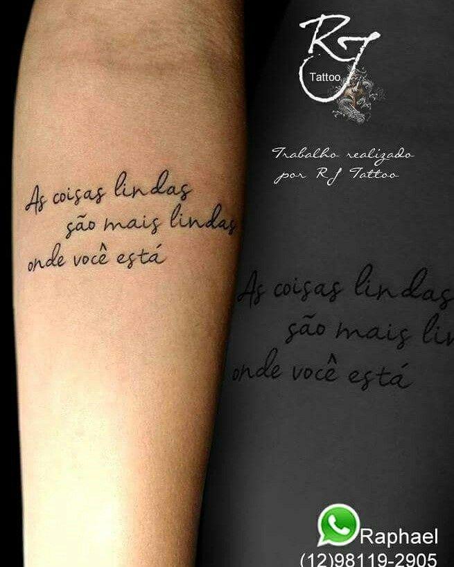 Tatuagem Frase Tattoo Frase Frase Nando Reis Https Www