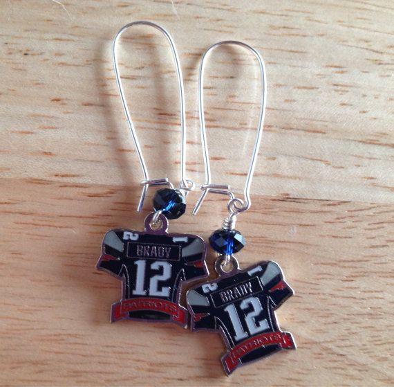Tom Brady (MVP) Jersey earrings | Tom brady mvp, Tom brady, Brady