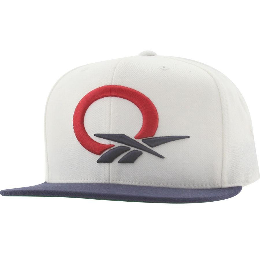 61cb993ee11 Reebok Question STA3 Wool Snapback Cap (white   navy) NP07Z-ZREEBRWNY -   27.99