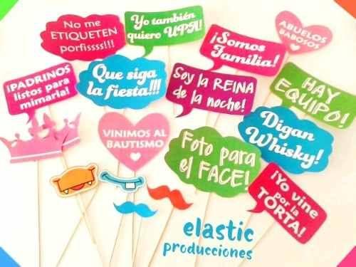 Photo booth props fiestas cumplea os 40 unidades 270 - Fiestas de cumpleanos originales para adultos ...