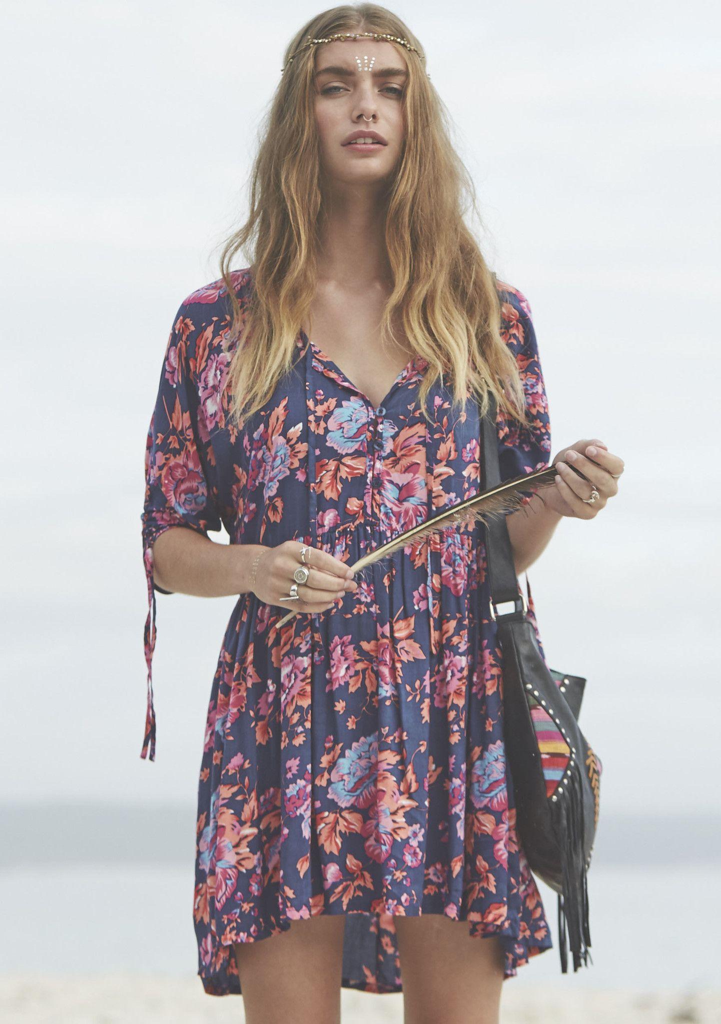 Auguste - Diamonds Roamer Play Dress Sweet Magnolia - Floral Dress – AUGUSTE
