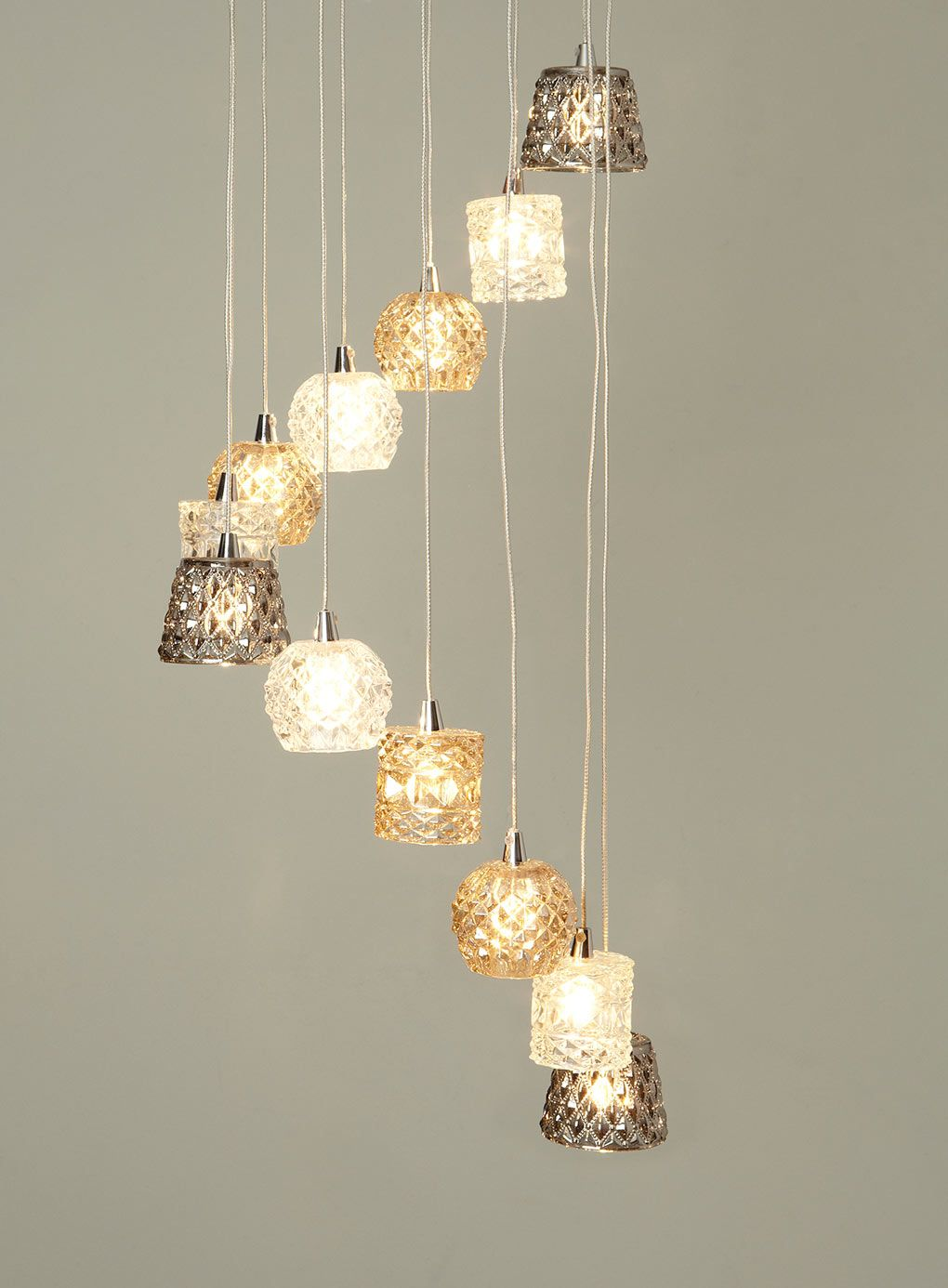 Miley Cer Ceiling Lights Home Lighting Bhs