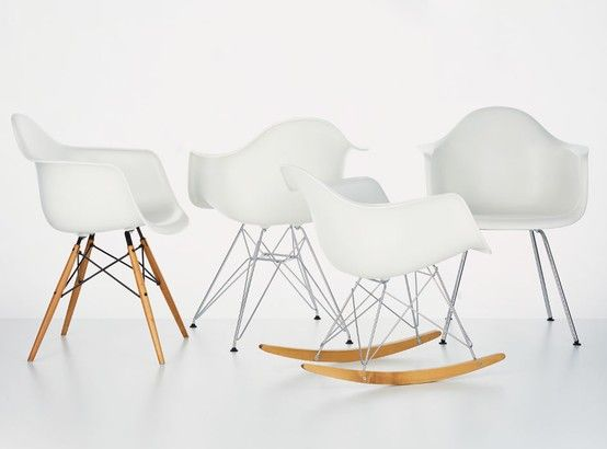 Charles Eames Armchairs #DAW #DAR #RAR #DAL   Stuff to Sketch ...