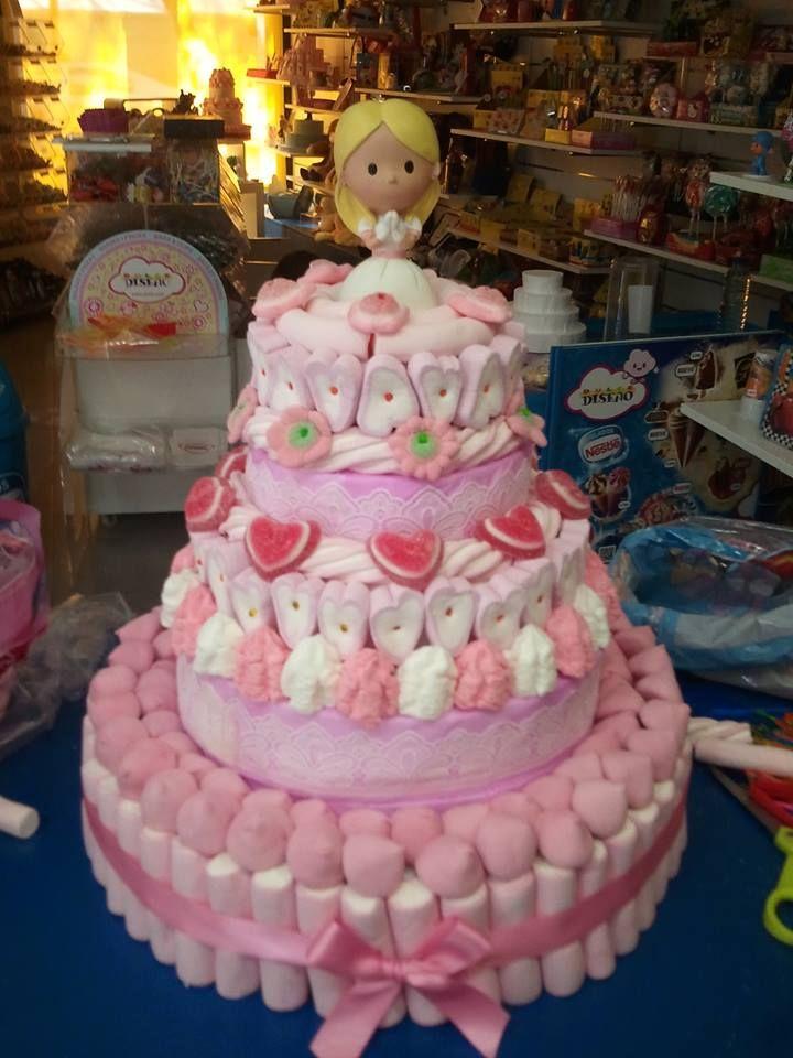 tortas de golosinas para comunion