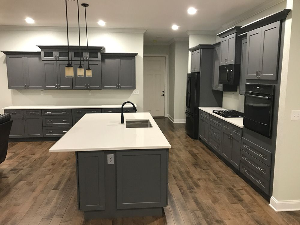 Best Buy Shaker Gray Rta Ready To Assemble Kitchen Cabinets 400 x 300