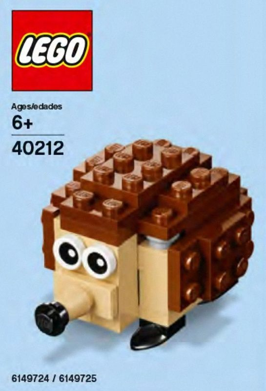 LEGO Set 40212-1 Monthly Mini Model Build May 2016 - Hedgehog ...