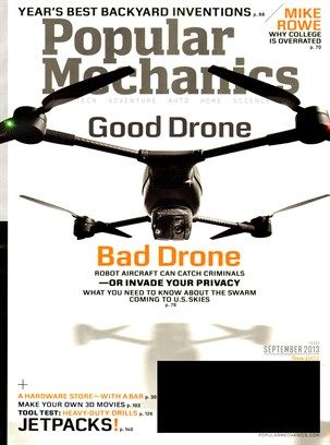 Popular Mechanics Cover For 9 1 2013 Books Worth Reading
