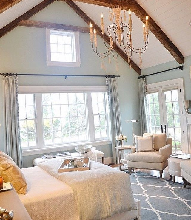 Wish I Had A Large Master Bedroom With High Ceilings Like