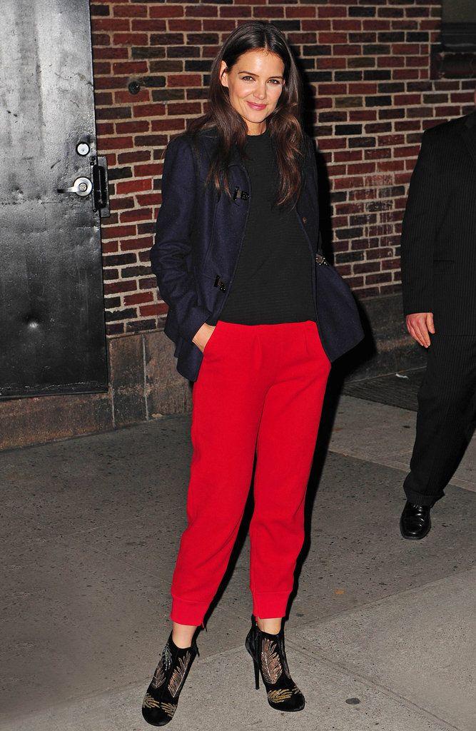 Katie Holmes looking fab in New York. #KatieHolmes ...