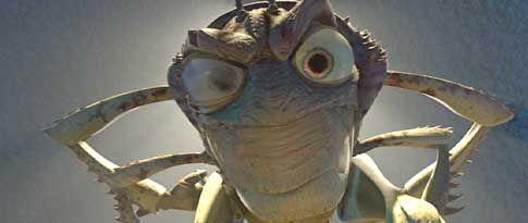 "Hopper, villain in ""A bug's life"" (Disney)"