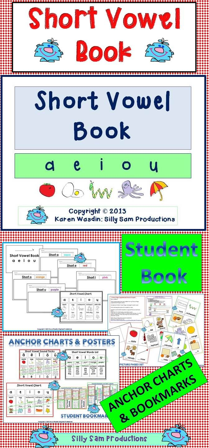 Short vowel book differentiated lesson and printables short short vowel book differentiated lesson and printables nvjuhfo Choice Image