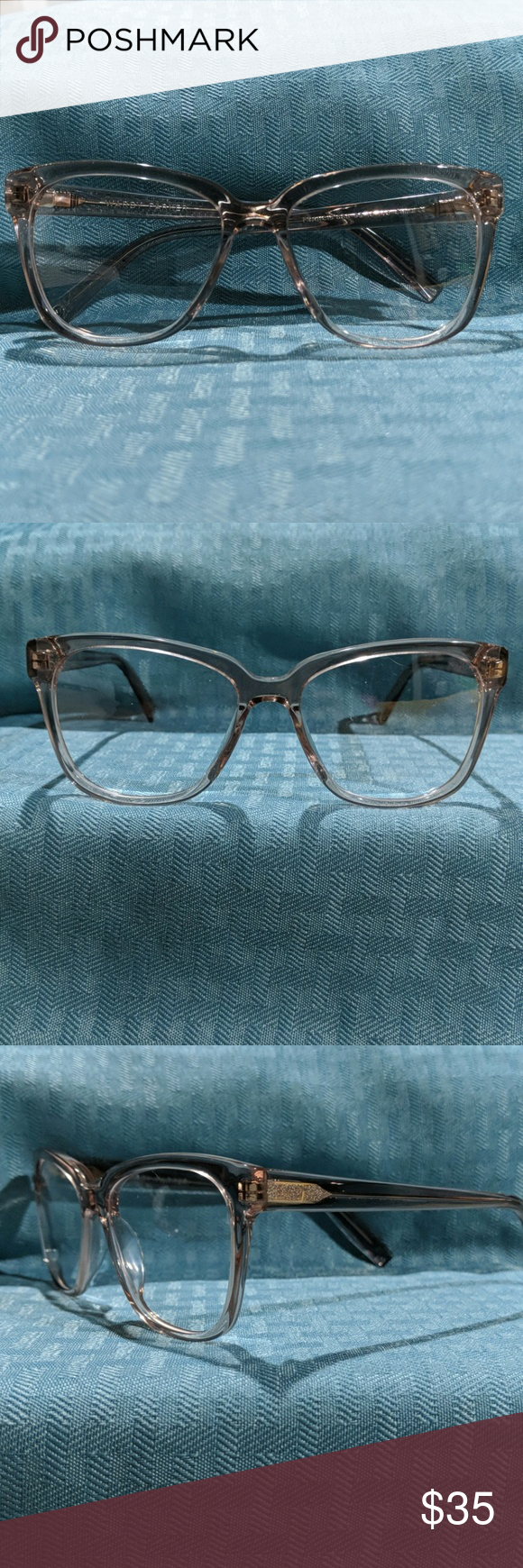 Warby Parker frames Warby Parker Francis rose water frames