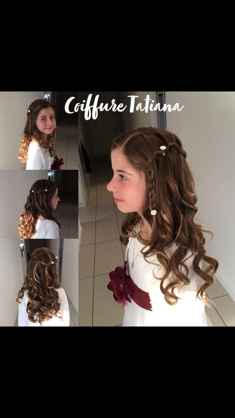 Coiffure Confirmation Coiffure Hair Styles Beauty