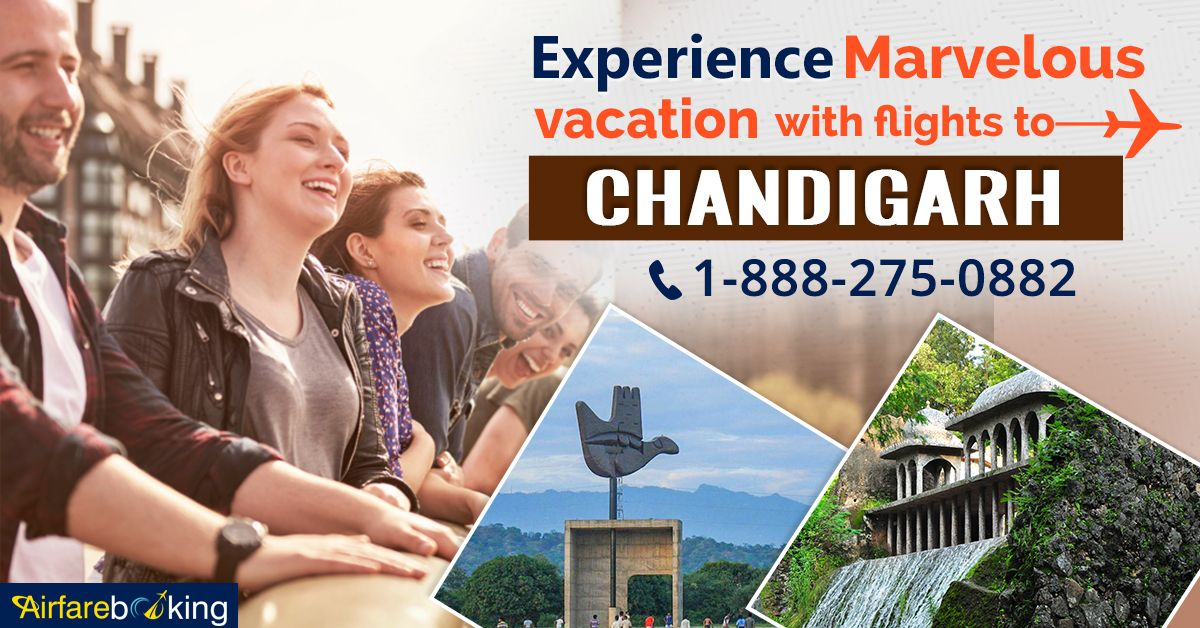 Cheap Flight Deals to Chandigarh! Book your flight tickets with #Airfarebooking, don't miss any chance of travelling for less. Hurry! Book Now!  For more information call us at- 1-888-275-0882 (Toll-Free). Or, click the link in bio @airfarebooking.  #beautifulcity #tourists #touristplace #chandigarhdaries #visitchandigarh #incredibleindia #travel #traveltochandigarh #Vacations #CheapFlights #CheapFlightDeals