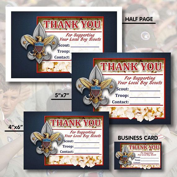 Instant Download Boy Scout Popcorn Sales Cards Salesmen Etsy Boy Scout Popcorn Scout Popcorn Boy Scouts