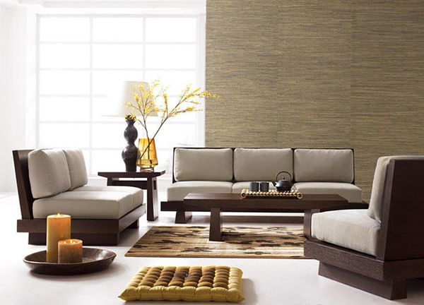 My Dream Home Minimalist Zen With A Japanese Flavor Living Room Sets Furniture Wooden Sofa Designs Japanese Living Rooms