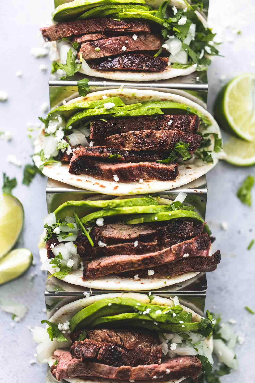 Flank Steak Tacos | Creme De La Crumb