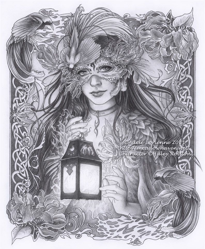 Masquerade radiance by art - Mandala paysage ...