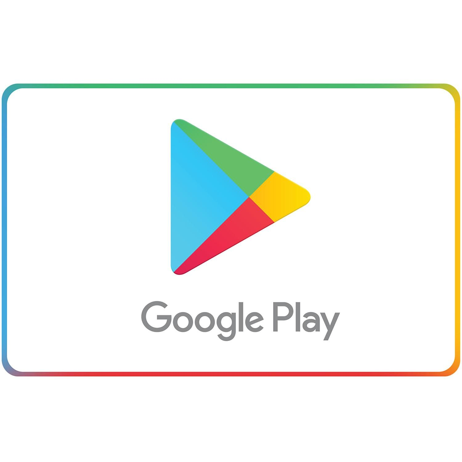 Google Play eGift Card (Email Delivery) - Various Amounts ...